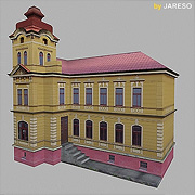 Detailed Lowpoly building