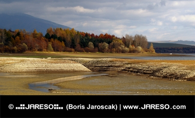 Сухото езеро, при облачно есенен ден