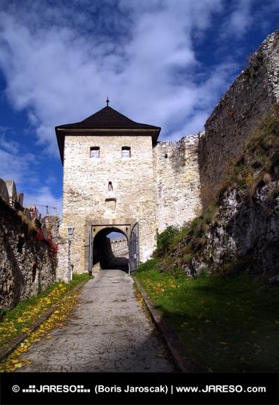 Портата на замъка Тренчин