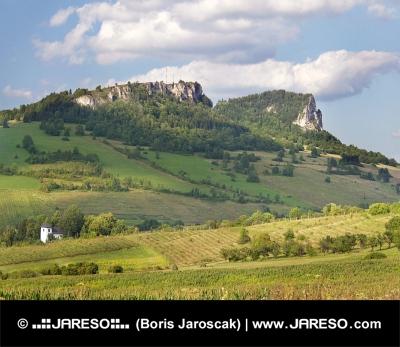 Rocks на Vyšný Kubin (Vysnokubinske Skalky)