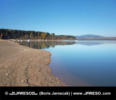 Shore в Орава резервоара ( Oravská Priehrada )
