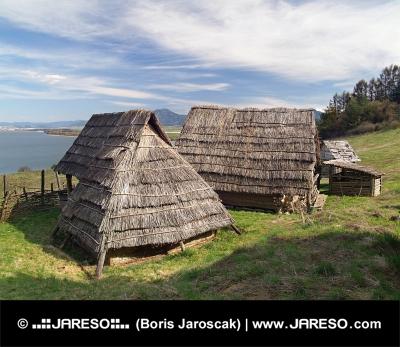 Селтик къщи, Havranok Скансен, Словакия