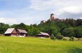 Фолк къщи и замък в Стара Lubovna