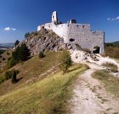 Крепостта на замъка на Cachtice