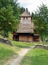 Редки дървена църква в Zuberec