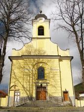 Църквата на Светия кръст в Lucky, Словакия