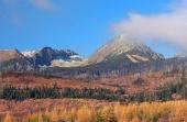 Високите Татри през есента, Словакия