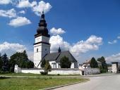 Църква на свети Матей в Партизанска Ľupča