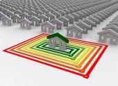 Kun én er energimæssigt effektiv hus