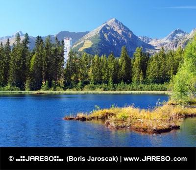 Nove Poprad og Solisko Peak i H?je Tatra