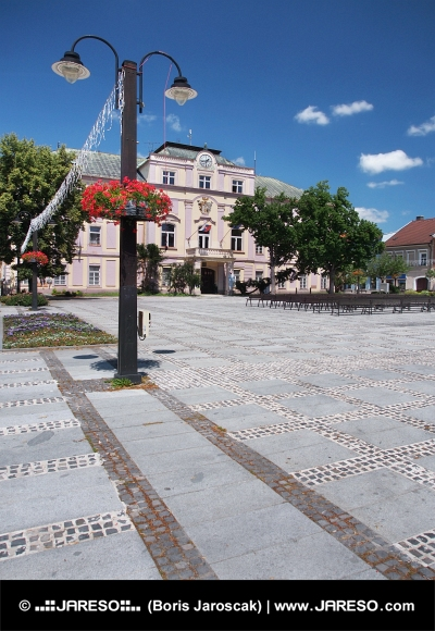 Gammel County Hall i Liptovsky Mikulas