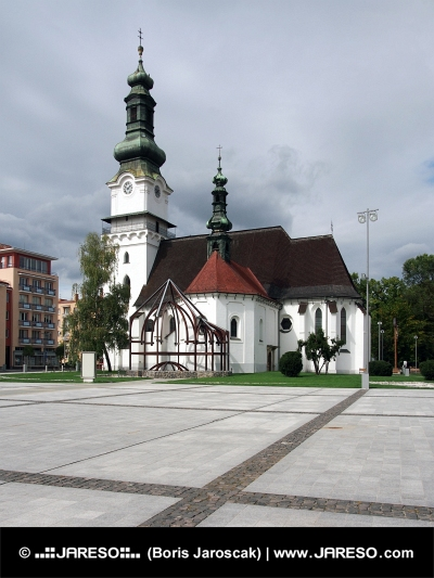 Church of Saint Elizabeth i Zvolen, Slovakiet