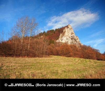 Ostra Skala, Vysnokubinske Skalky, Slovakiet