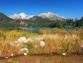 Efterår på Strbske Pleso, High Tatras, Slovakiet