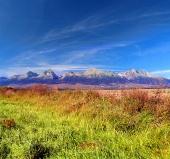 Farverige Tatra Muntains om sommeren