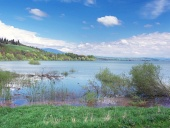 Meget høj vandstand på Liptovska Mara