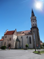 Church of St. James i Levoca