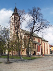 Church of the Assumption i Banska Bystrica