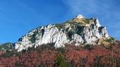 Efteråret udsigt over Velky Rozsutec, Slovakiet