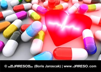 Pills, Herz und EKG