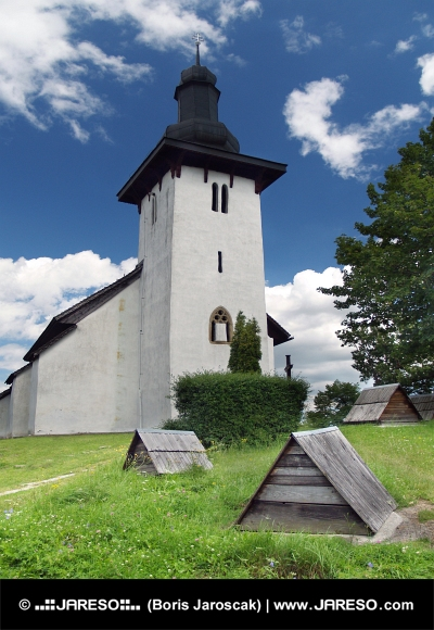 Saint Martin Kirche in Martincek, Slowakei