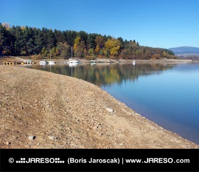 Shore at Orava Reservoir (Oravská Priehrada)