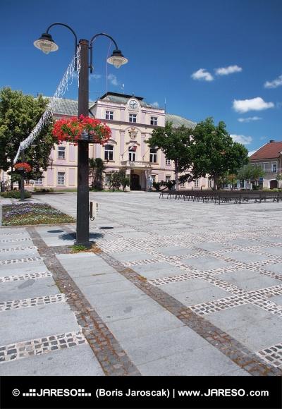 Old County Hall in Liptovsky Mikulas