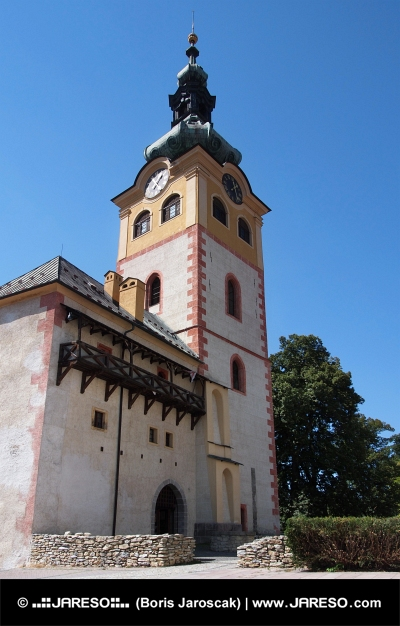 Tower of Stadtschloss in Banska Bystrica
