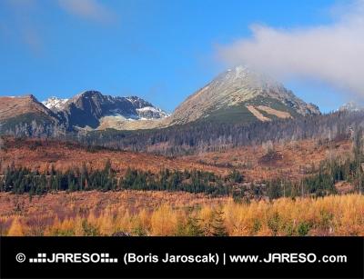 Hohe Tatra im Herbst, in der Slowakei
