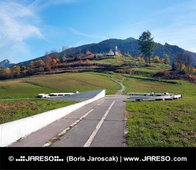 Juraj Janosik Denkmal, Terchova, Slowakei