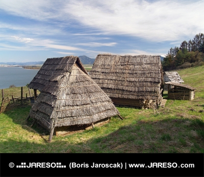 Celtic Häuser, Havranok Skansen, der Slowakei