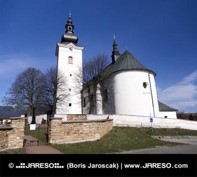 Kirche St. Georg in Bobrovec, Slowakei