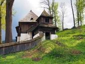 Seltene UNESCO Kirche in Lestiny, Orava, Slowakei