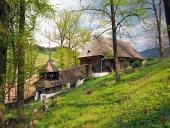 Holz UNESCO Kirche in Lestiny, Slowakei