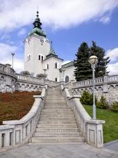 Kirche St. Andreas, Ruzomberok, Slowakei