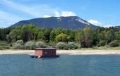 Hausboot und Rohace im Sommer