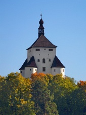 New Castle in Banska Stiavnica, Slowakei