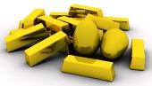 Ράβδους χρυσού και χρυσά αυγά