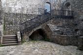 Εσωτερικό του κάστρου της Strecno