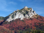 Πολύχρωμο κορυφή Velky Rozsutec
