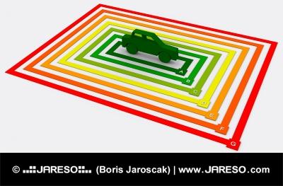 Energéticamente eficiente coche