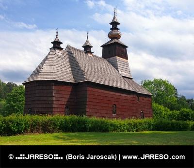 Una iglesia rara en Stara Lubovna, Spis, Eslovaquia
