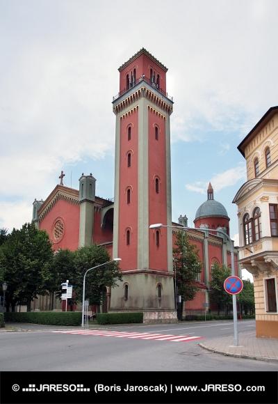 Nueva iglesia evangélica en Kezmarok