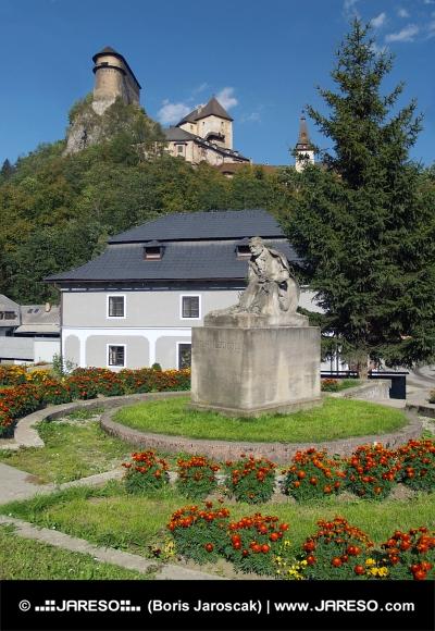 P. O. Hviezdoslav y el castillo de Orava