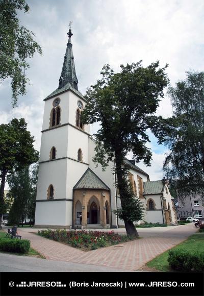 La iglesia católica romana en Dolny Kubin