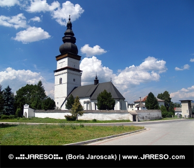 Iglesia de San Mateo en Partizanska Lupca