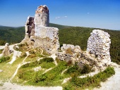 El castillo de Cachtice - Ruinas