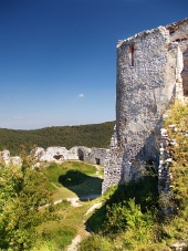 El castillo de Cachtice - Donjon