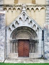 Puerta de la Catedral en Spis Capítulo