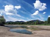 Tierra seca en verano